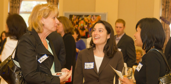 CWE Boston Program Manager, Gina Marciano at the MIDAS Fundraiser