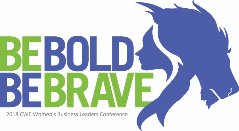 Be Bold Be Brave - CWE Conference - logo